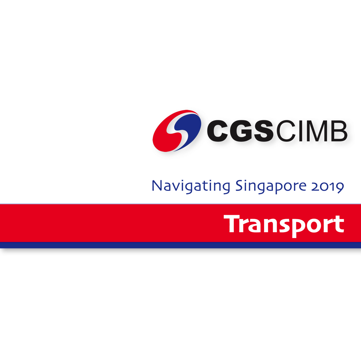 Navigate Singapore 2019 ~ Transport Sector - CGS-CIMB Research | SGinvestors.io