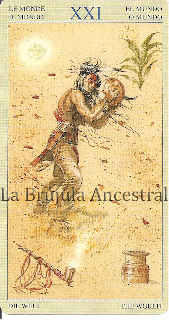Mundo del Tarot de los Nativos Americanos