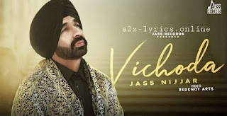 विछोड़ा Vichoda Lyrics in Hindi - Jass Nijjar