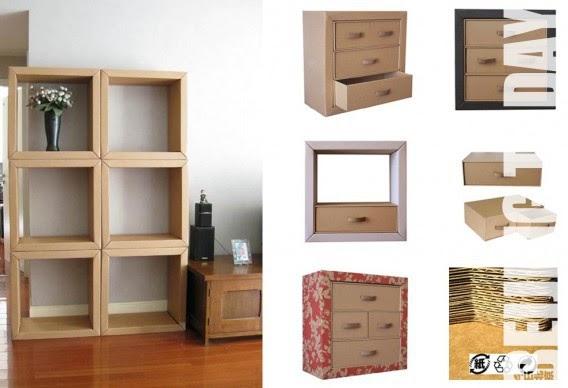 Lookingblog paperboard furniture arredi in cartone by for Arredi in cartone