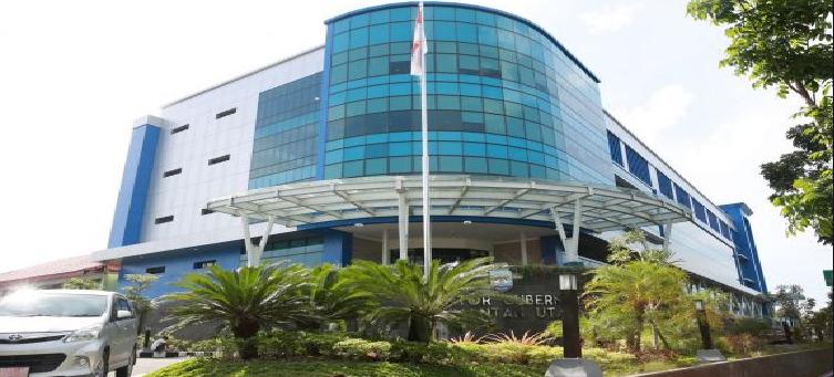 Kantor gubernur propinsi Kalimantan Utara (Kalut)