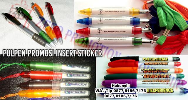 pulpen untuk promosi seperti pulpen cabe tali, pen cabe resleting, pen boss gell, pen 736