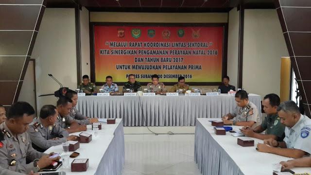 Rapat Koordinasi Operasi Lilin Lodaya Tahun 2016