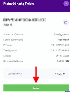 Twisto opłacenie zakupów