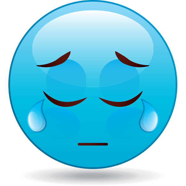 Tearful Emoji
