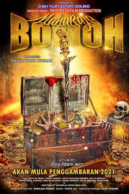 Penggambaran Filem Maharaja Bomoh akan dilakukan di sekitar negeri Perak