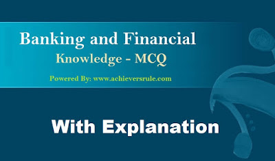 Banking And Financial Awareness MCQ- Set 30