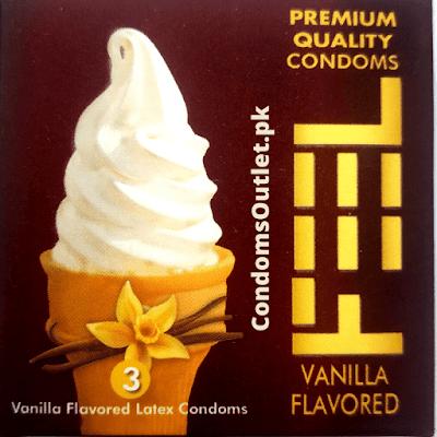 Buy Feel Vanilla Flavored Condoms Online
