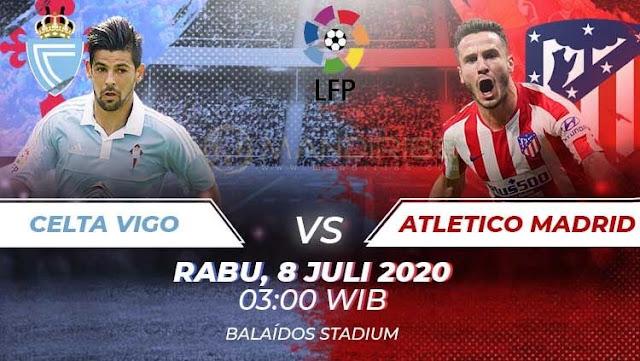 Prediksi Celta Vigo Vs Atletico Madrid, Rabu 08 Juli 2020 Pukul 03:00 WIB