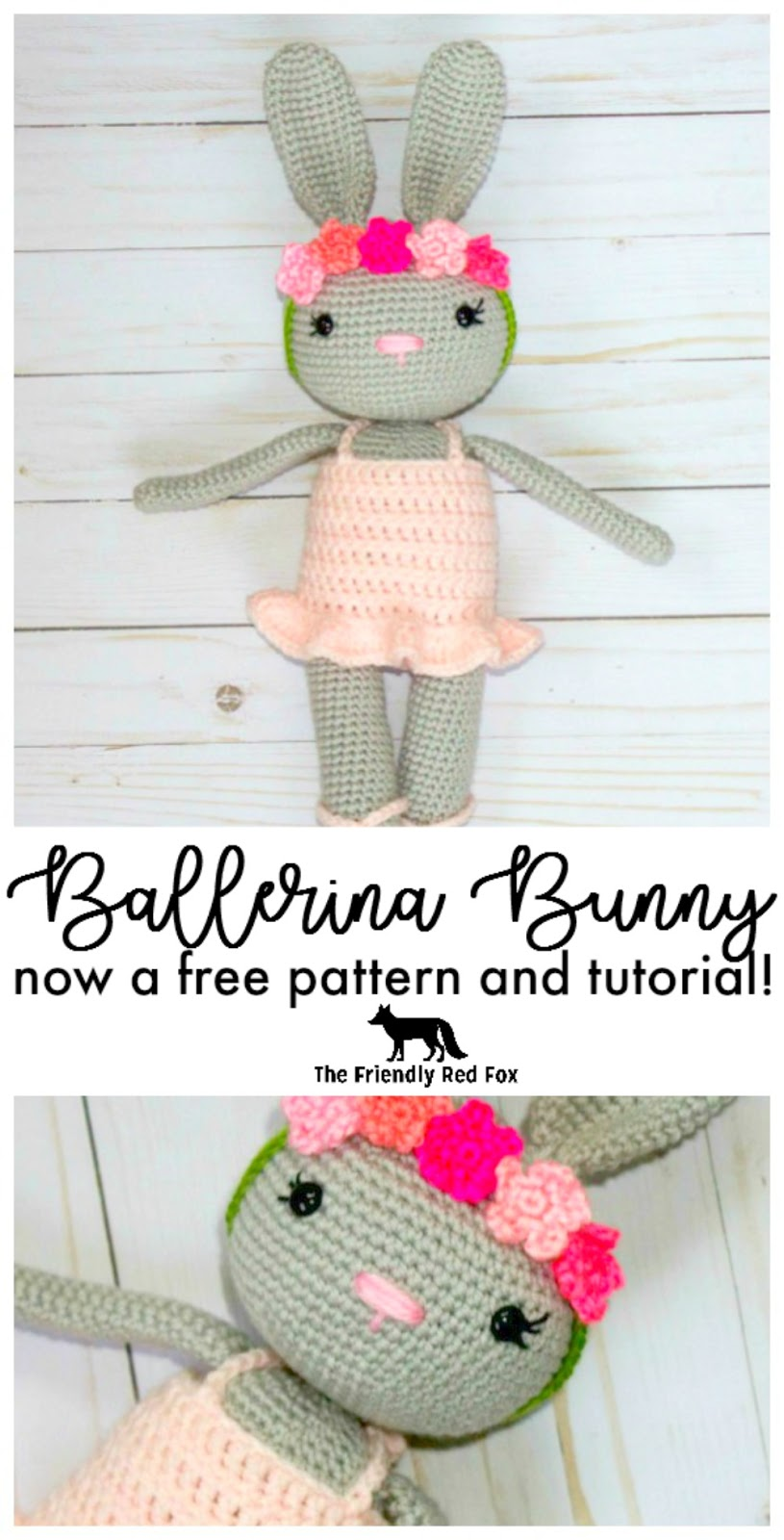 Bunny heart amigurumi pattern - Amigurumi Today | 1600x815