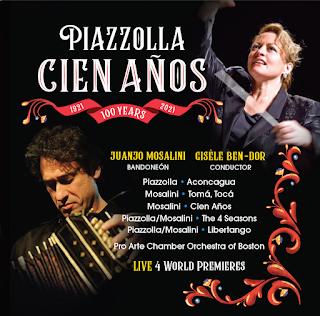 Piazzolla Cien Anos - Centaur Records