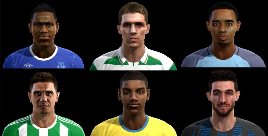 PES 2013 Facepack Update #24/01/2017 by Pablobyk