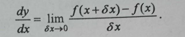 चर तथा अचर राशि क्या है? फलन, वृद्धि तथा अवकलन क्या है?  उदाहरण