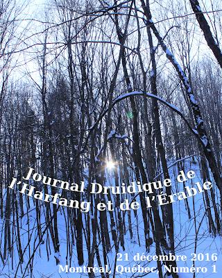 un journal pour les passionné-e-s de druidisme au Québec