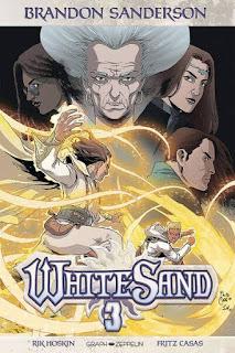 Couverture du comics White Sand tome 3 aux éditions Graph Zeppelin