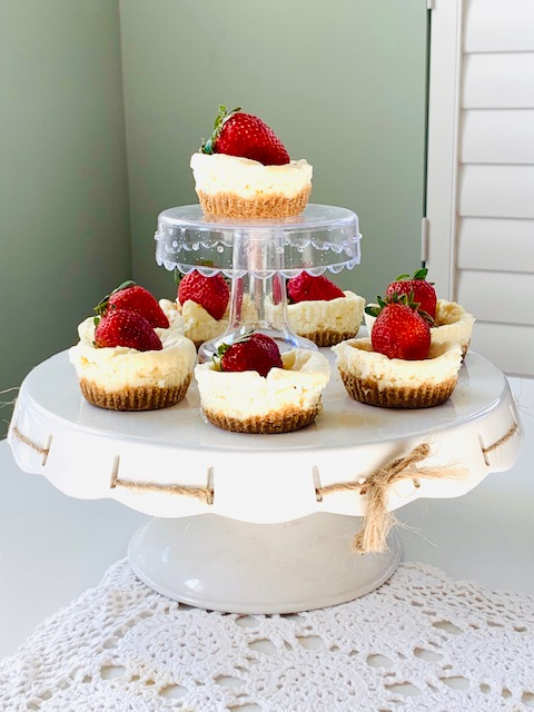 Keto Vanilla Cheesecake