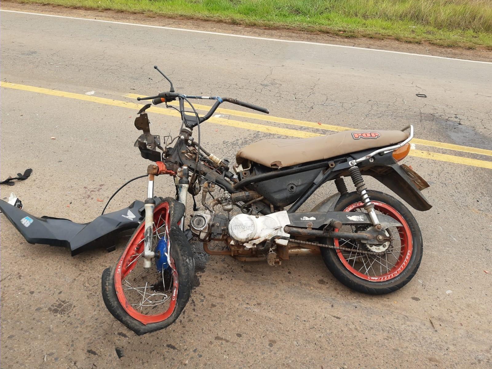 Motociclista morre após bater em caminhonete na PA-160 entre Parauapebas e Canaã dos Carajás