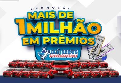 Cadastrar Promoção Jaú Serve 2020 Carros e Descontos na Hora - Mais de 1 Milhão Prêmios