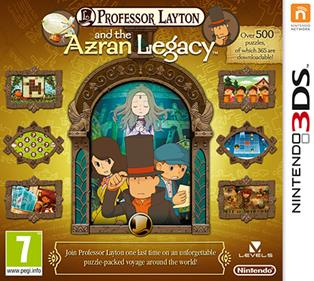 Rom Professor Layton and the Azran Legacy 3DS