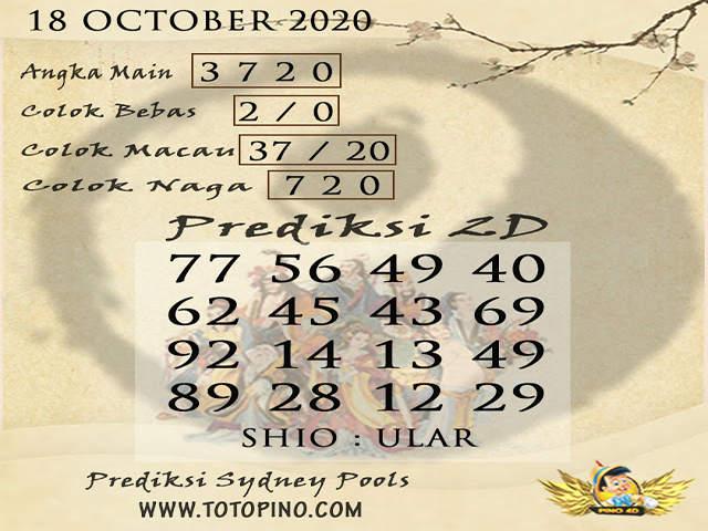 Kode syair Sydney Minggu 18 Oktober 2020 189