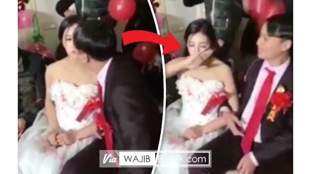Setelah Resmi Menikah, Wanita Ini Dicium Suaminya Sendiri Lihat yang Dilakukan Bikin Nyesek!