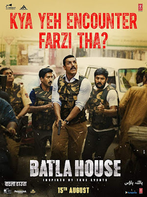 Poster Batla House 2019 Hindi HD 300Mb