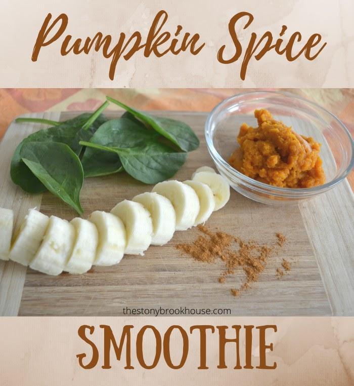 Pumpkin Spice Breakfast Smoothie