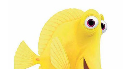 Pixar Cars Wallpaper Border 7 Free Disney Pixar Yellow Fish Bubbles From Finding Nemo