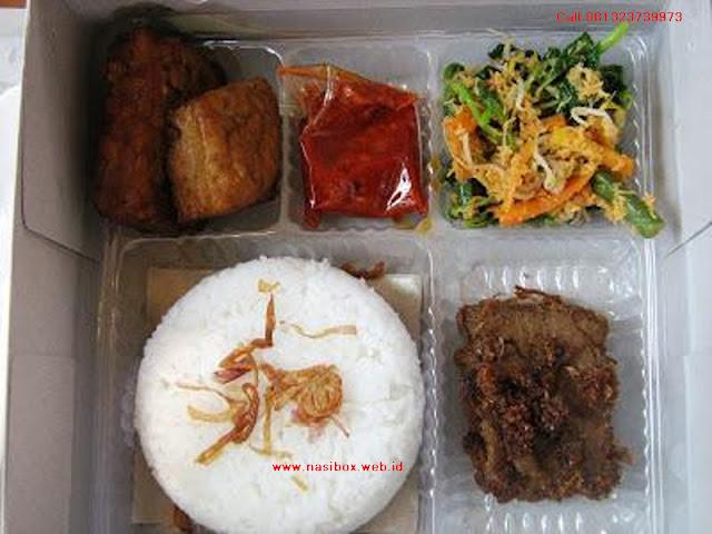 Nasi box yang enak dan murah di ciwidey