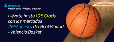 william hill Euroliga Real Madrid vs Valencia Basket 5-12-2019