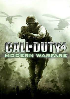 Capa do Call of Duty 4: Modern Warfare