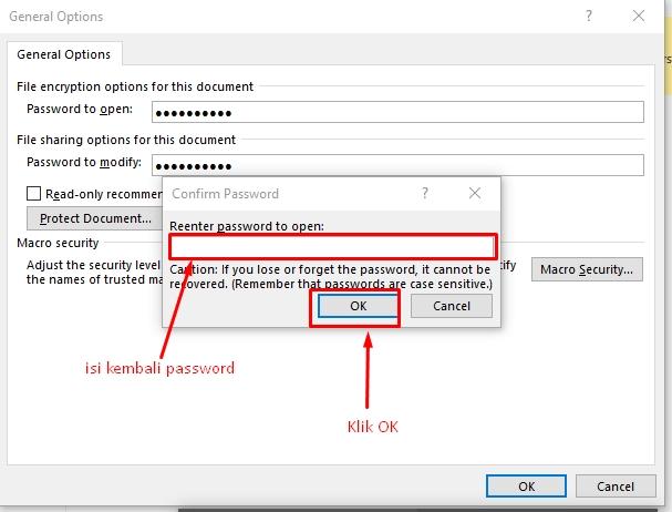 Cara Simpan Dokumen Word ke PDF Dengan Proteksi Password