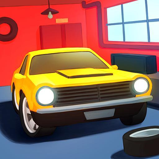 Tiny Auto Shop Car Wash Game v1.4 Apk Mod [Dinheiro Infinito]