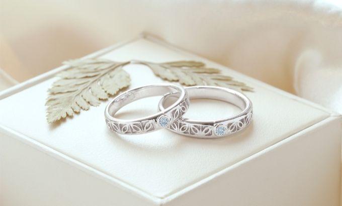 Cincin Pernikahan Sederhana