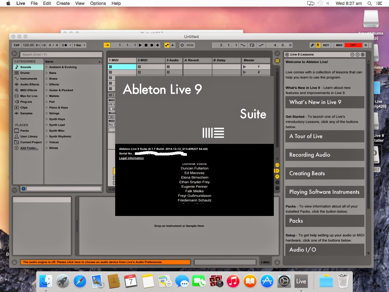 ableton live 9 crack mac os x yosemite