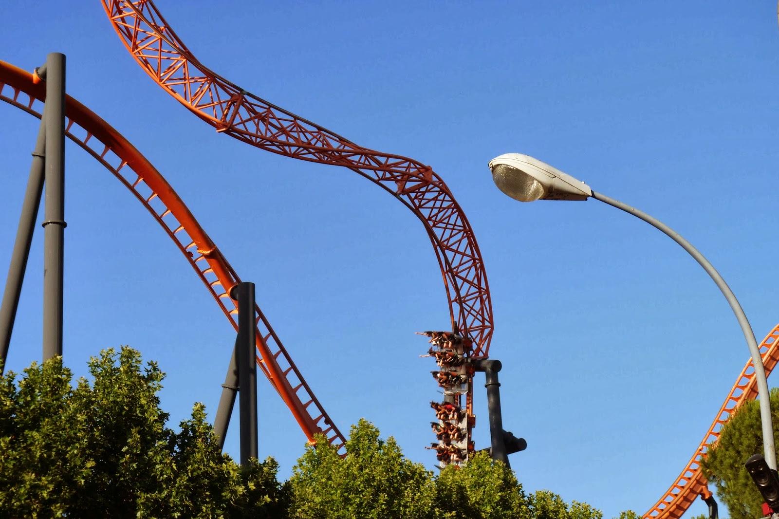 El Abismo-Parque de Atracciones de Madrid.