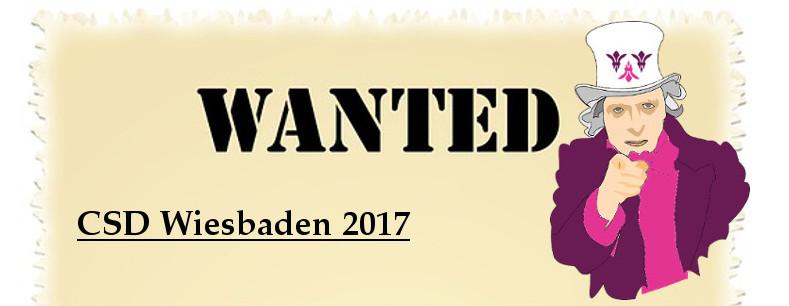 Der CSD Wiesbaden 2017 Steht Vor Tr Und Neben Zahlreichen Helferinnen Whrend Veranstaltungen Suchen Wir Organisatorinnen Teamleiterinnen