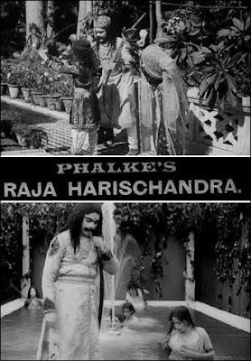 Póster película Raja Harishchandra