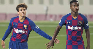 Deco: Ansu Fati and Riqui Puig will become huge success stories at Barca