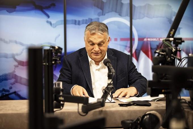 """Orbán Viktor: """"A magyar nemzet megmaradt"""""""