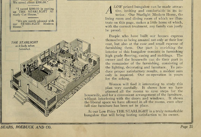 Sears Starlight floor plan