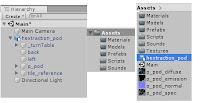 تصميم لعبة على برنامج محرك الالعاب Unity