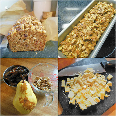 easy to make whole grain fruit sweetened quick bread
