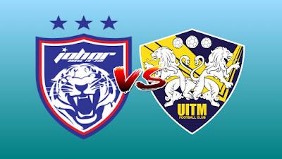 Live Streaming JDT II vs UITM FC Liga Premier 25.5.2019