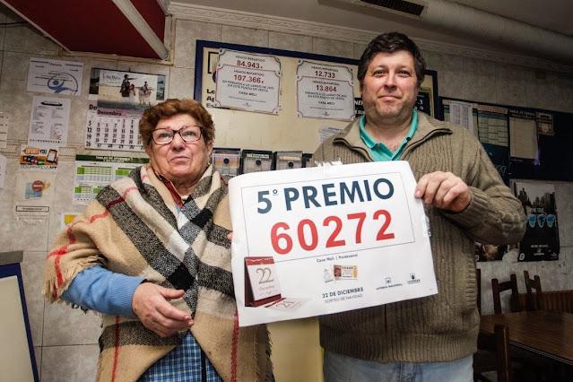 'Pellizcos' de alegría en Barro: Casa Meli reparte un 5º premio 60272