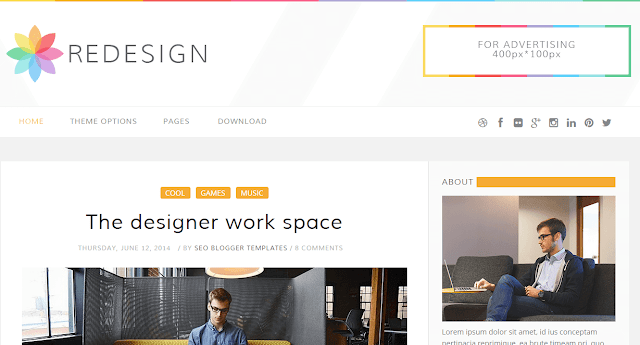 Redesign Blogger Template