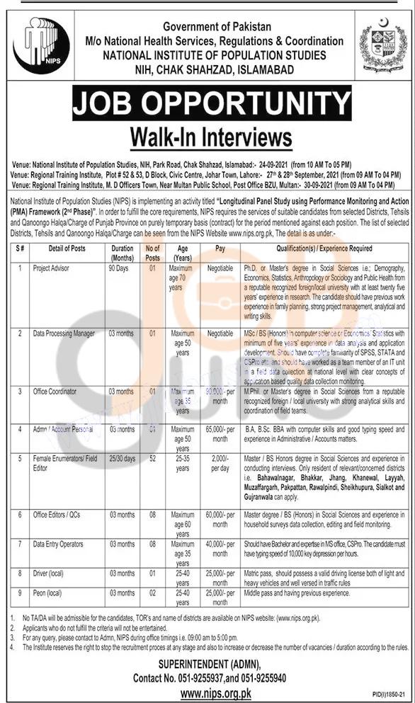 nih-islamabad-jobs