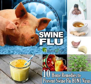 Swine Flu se bachne ke tarike aur gharelu nuskhe.