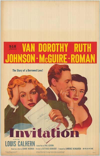Invitation (1952) ταινιες online seires oipeirates greek subs