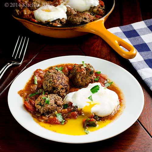 Moroccan Kefta and Tomato Tagine